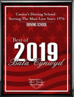 Best Of Bala Cynwyd 2019 Plaque